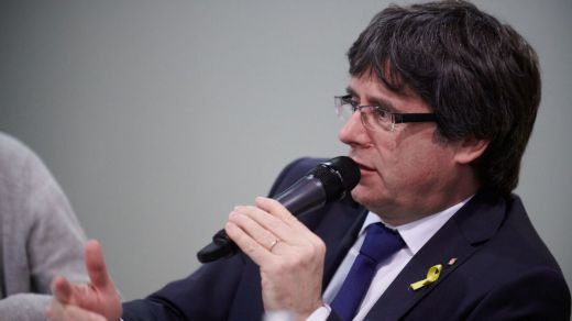 La Fiscalía, a favor de que Puigdemont pueda presentarse a las europeas