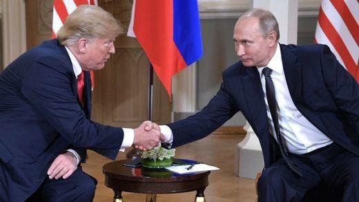Trump asegura que Putin se abstendrá de intervenir en la crisis venezolana