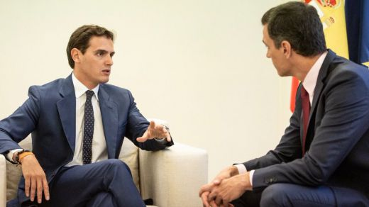 Con Rivera no será... el líder de Ciudadanos descarta un pacto de legislatura con Sánchez