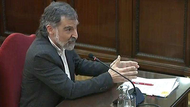 El Tribunal Constitucional respalda la prisión provisional de Jordi Cuixart