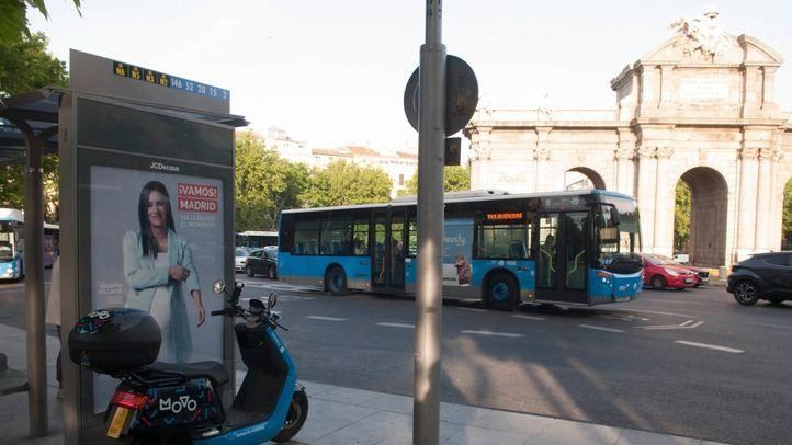 Ciudadanos empapela Madrid con imágenes de Villacís a dos días de la campaña