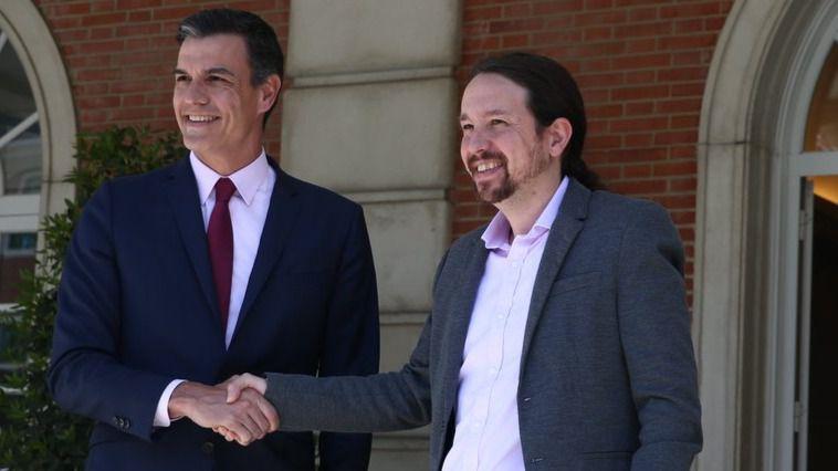 El discreto y secreto acuerdo de Sánchez e Iglesias: ambos pactan silencio hasta las elecciones del 26-M