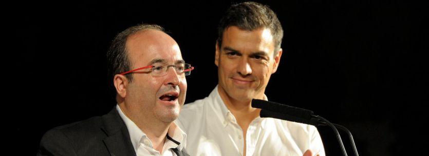 Sánchez hace un primer 'guiño' a Cataluña postulando a Iceta como presidente del Senado