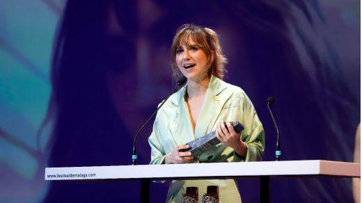 Aina Clotet, protagonista de 'La filla d'algú', film dirigido colectivamente por alumnos de la ESCAC, se presentó en el BCN Festival (vídeo)