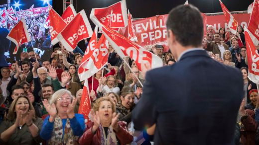 La España autonómica se tiñe de rojo: el PSOE podría ganar en casi todas las comunidades el 26-M