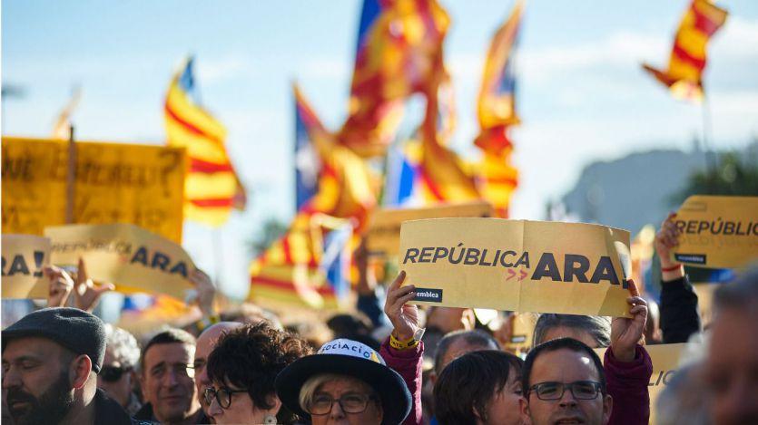 El CIS catalán prueba una teoría sostenida por la izquierda: sin el PP en el Gobierno, cae el independentismo