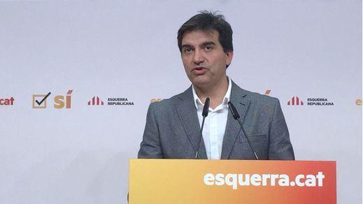 ERC confirma su 'no' a la designación de Iceta como senador