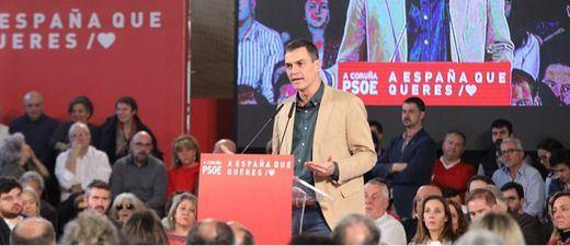 Sánchez abronca a los independentistas por su veto a Iceta
