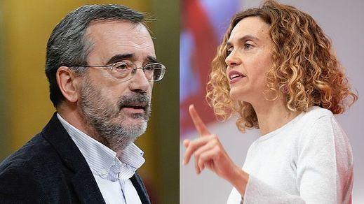 Dos catalanes, al frente de las Cortes: Meritxel Batet presidirá el Congreso y Manuel Cruz, el Senado