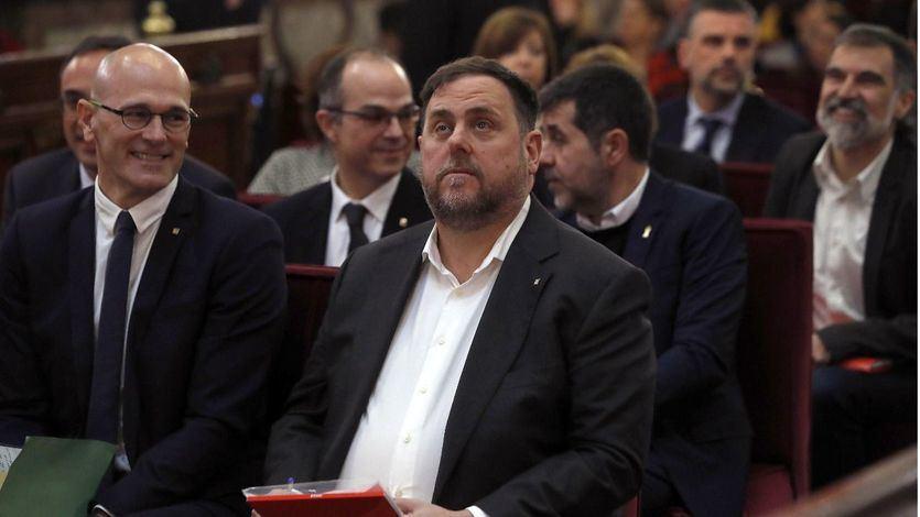 Los políticos catalanes presos saldrán el lunes para recoger sus actas parlamentarias