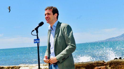 Casado habla de un pacto ya preparado de Sánchez con Podemos y ERC y alerta de Ciudadanos,