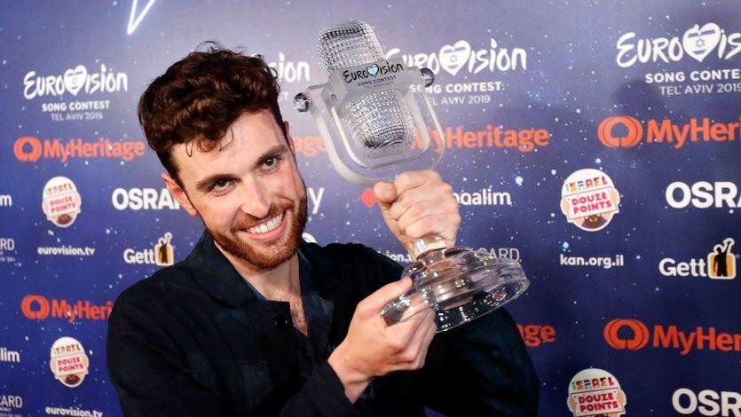 Holanda gana Eurovisión y España se conforma con el puesto 22