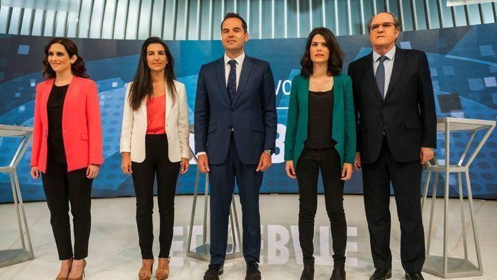 Madrid: Aguado gana un debate centrado en la batalla por el voto útil y los ataques a Gabilondo