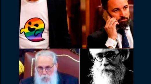 Gaysper y Valle-Inclán protagonizan los memes con las anécdotas en el Congreso