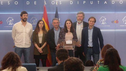 Unidas Podemos podría votar en contra de la suspensión de los diputados presos