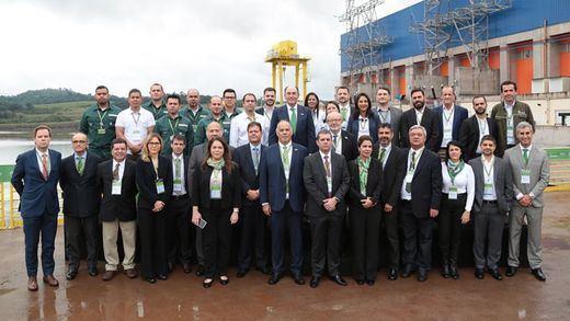 Iberdrola inaugura la central hidroeléctrica de Baixo Iguaçu, que suministrará energía limpia a un millón de brasileños