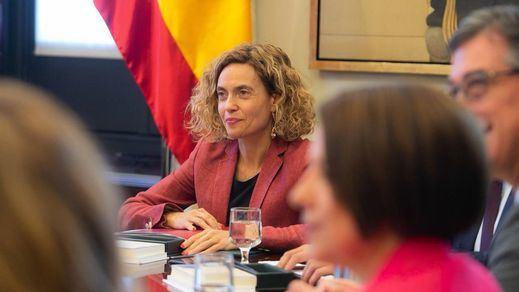 Batet escucha a los letrados y suspende a los políticos catalanes presos