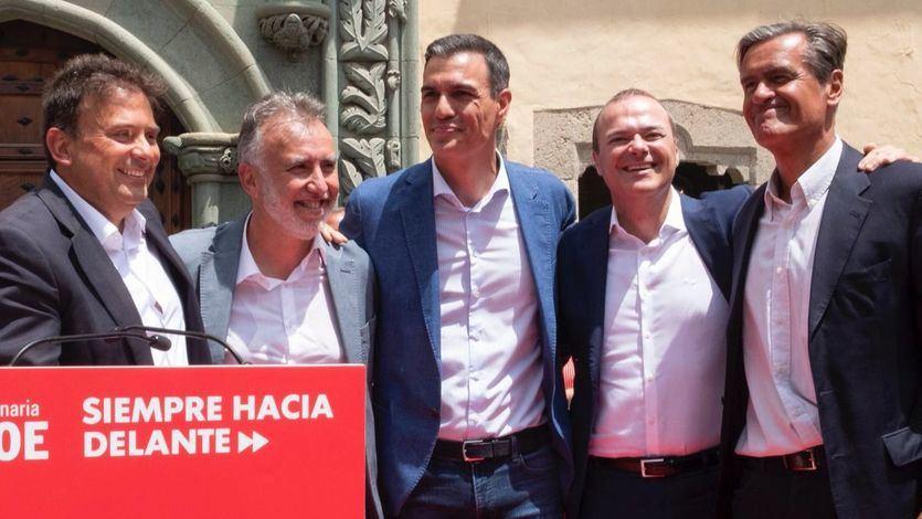 El PSOE desbanca a Coalición Canaria en el archipiélago después de casi 3 décadas