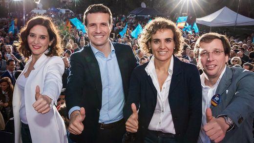 El PP se atrinchera en la Comunidad de Madrid y pierde uno solo de sus 'feudos': La Rioja
