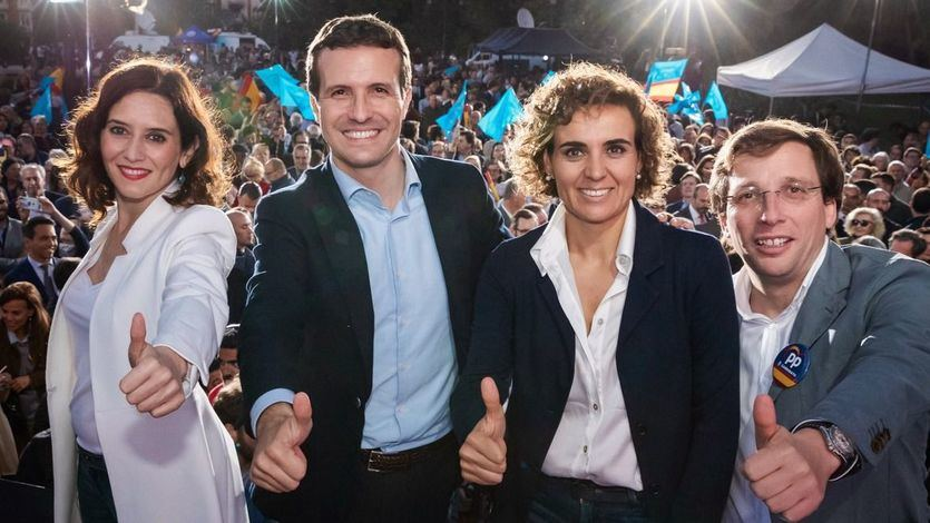 El PP se atrinchera en la Comunidad de Madrid, pierde La Rioja pero gana Aragón