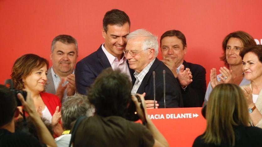 El PSOE gana las elecciones europeas con rotundidad y el PP recupera parte de los votantes que se fueron a Vox