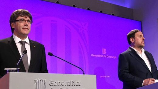 Puigdemont y Junqueras tendrían que recoger sus actas de eurodiputados justo al cierre del juicio del procés