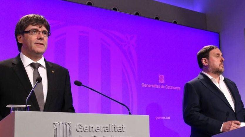 Junqueras, Puigdemont y Comín tendrían que recoger sus actas de eurodiputados justo al cierre del juicio del procés