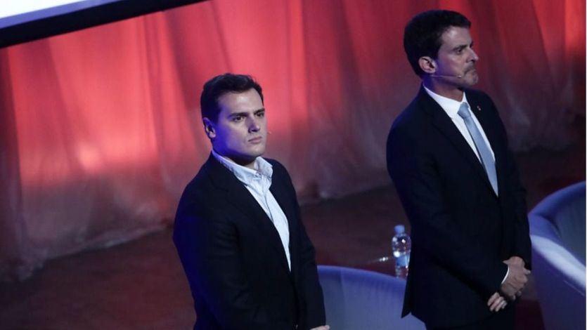Albert Rivera y Manuel Valls