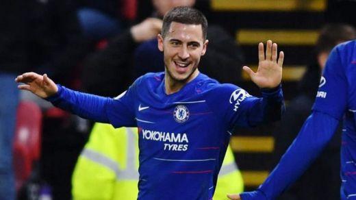 Hazard se despide del Chelsea e ilusiona a los seguidores del Madrid: