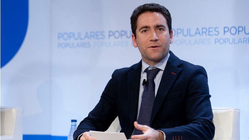 García Egea: 'Los que negocien con el PSOE se sentarán en la mesa con quien trata de blanquear a Bildu'