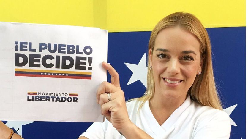 Llega a España Lilian Tintori, esposa del opositor venezolano Leopoldo López