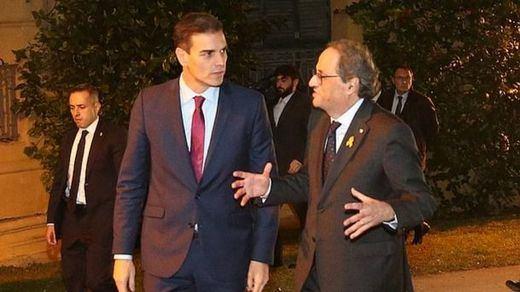 Torra pide una cita a Sánchez por considerar que su posición con los presos se alinea con Vox