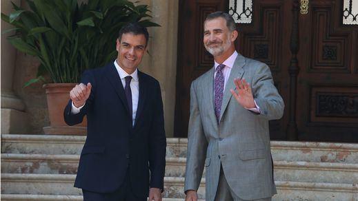 Sánchez acude a la ronda de consultas con el Rey sin haber buscado apoyos para su investidura