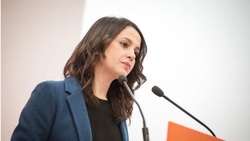 Arrimadas: 'La obligación moral del PSOE es dejar gobernar a 'Navarra Suma' y no pactar con Bildu'