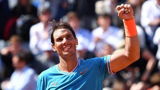 Nadal, finalista de Roland Garros tras vencer a Federer