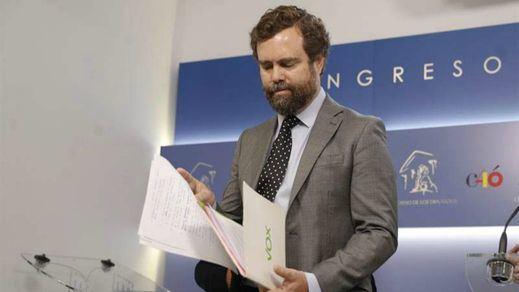 Vox intentará que la ley impida indultos a políticos independentistas que cometan 'rebelión'