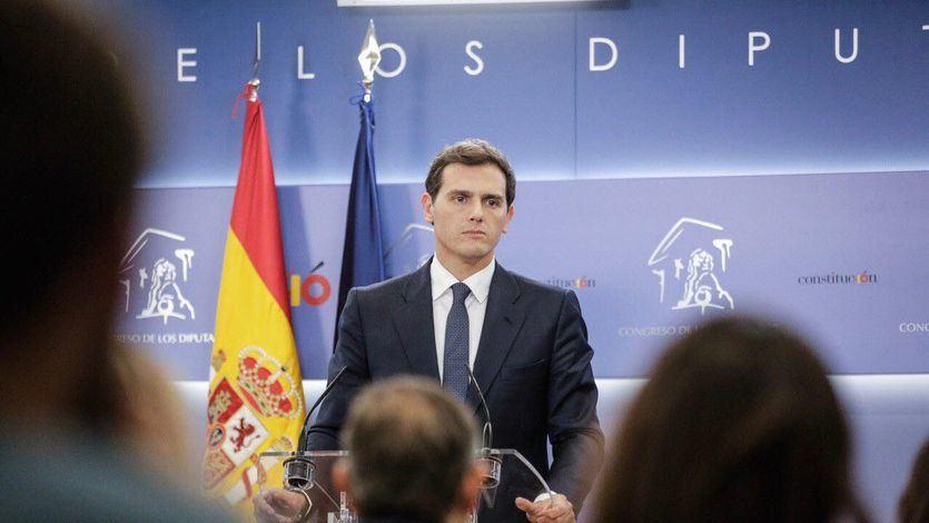 Rivera vuelve a decir 'no' a Sánchez: 'Lo lógico es que negocie con sus socios habituales'
