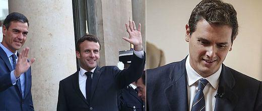 El Gobierno francés y el partido de Macron abroncan a Ciudadanos formalmente por pactar con Vox