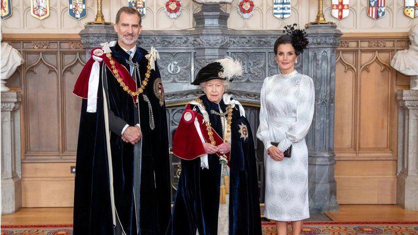 Felipe VI recibe la máxima distinción de la Corona británica