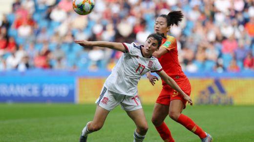 La Selección femenina de fútbol, en octavos de un Mundial por primera vez tras empatar 0-0 cn China