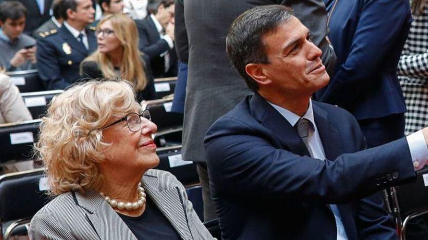 Carmena y otros fichajes estrella que podría estar preparando Pedro Sánchez y que incomodan a Pablo Iglesias