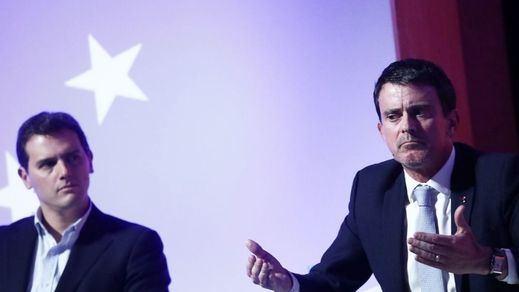 Ronda de entrevistas de Valls para renegar de Rivera: pasó de