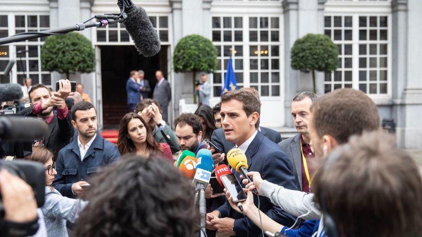 Rivera desmiente la 'bronca' de sus socios liberales y presume de protagonismo de Cs en Europa