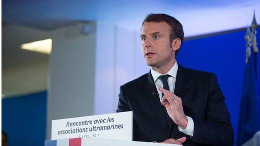 Macron deja en evidencia a Rivera: no le felicitó por sus pactos con Vox y PP