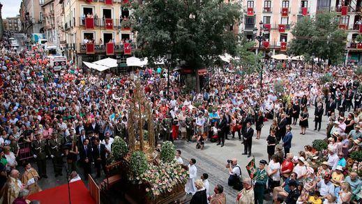 La alcaldesa Toledo Milagros Tolón, encabeza la Misa y Procesión del Corpus Christi