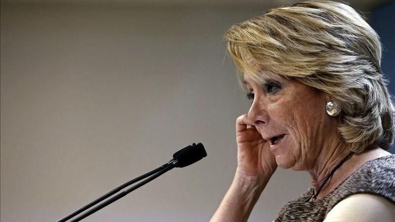 Esperanza Aguirre, otra vez señalada: la Guardia Civil la implica en la financiación ilegal del PP madrileño