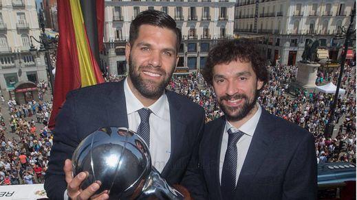 El Real Madrid celebra su 35º título de Liga de baloncesto
