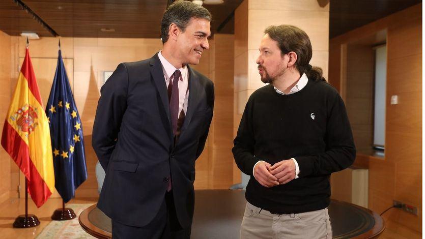Podemos es optimista con el Gobierno de coalición aunque revela que Sánchez prefiere a la derecha