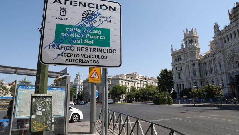 Greenpeace demuestra el descenso histórico de la contaminación ligado a Madrid Central
