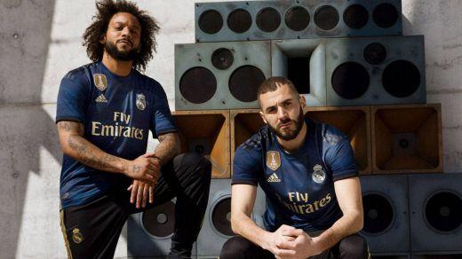 Así es la segunda camiseta del Real Madrid de esta temporada 2019/20